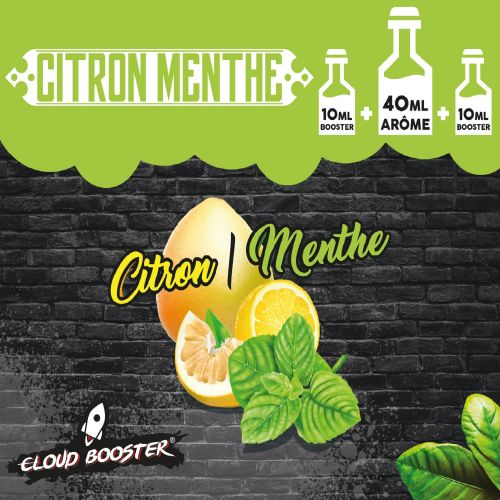 Citron-Menthe 40 ml - Cloud Booster