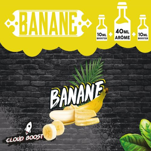 Banane 40 ml - Cloud Booster