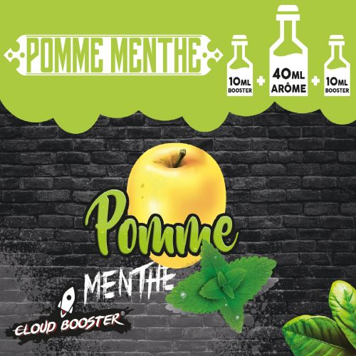 Pomme Menthe 40 ml - Cloud Booster