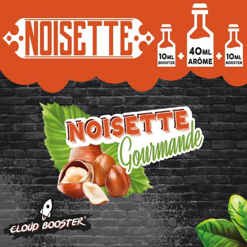 Noisette Gourmande 40 ml - Cloud Booster
