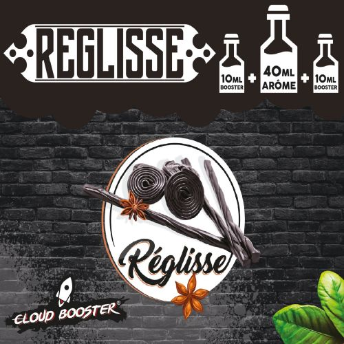 Réglisse 40 ml - Cloud Booster