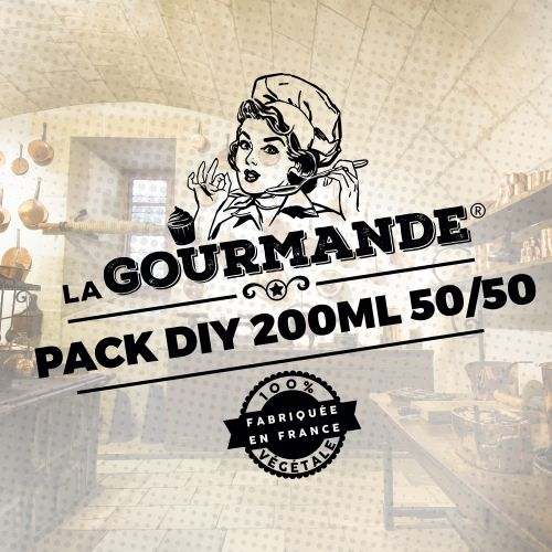 Pack DIY 200ml 50/50 La Gourmande