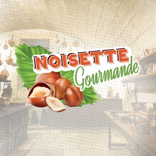 Concentré Noisette Gourmande 10 ml - La Gourmande