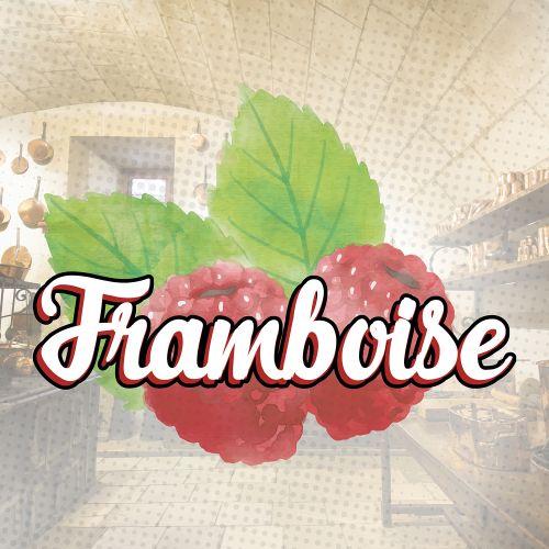 Concentré Framboise 10 ml - La Gourmande