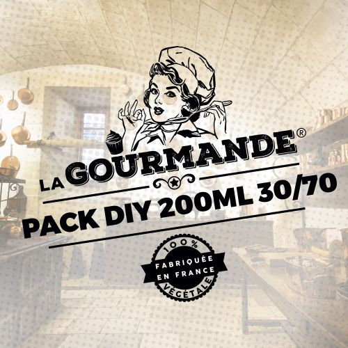Pack DIY 200ml 30/70 La Gourmande