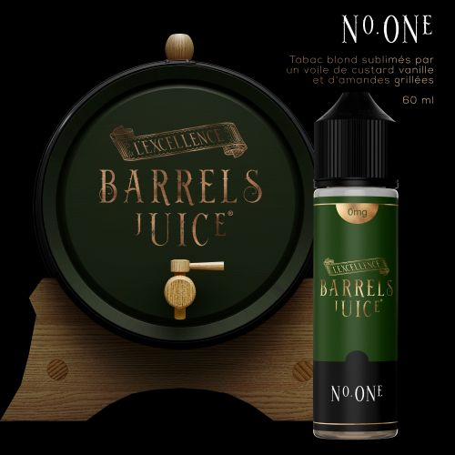 Tabac N° One   60 ml - Barrels Juice