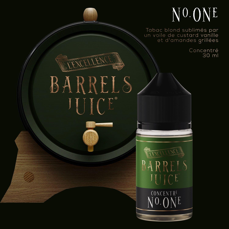 Tabac N° One   60 ml - Barrels Juice