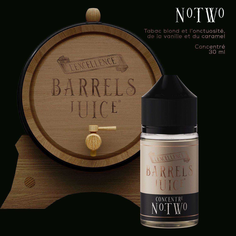 Tabac N° Two   60 ml - Barrels Juice