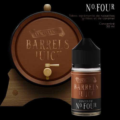 Tabac N° Four   60 ml - Barrels Juice