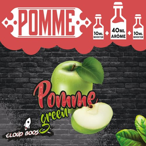 Pomme Green 40 ml - Cloud Booster