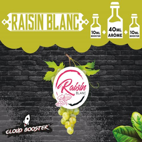Raisin Blanc 40 ml - Cloud Booster